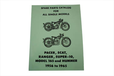 Hummer Spare Parts Catalog for 1956-1965