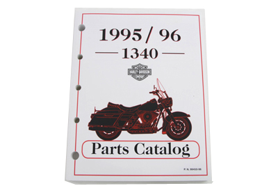 Factory Spare Parts Book for 1995-1996 Big Twin