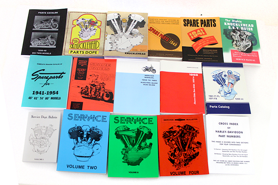 Big Twin Part & Service Manual Library Set