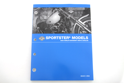 *UPDATE Factory Spare Parts Book for 2009 XL