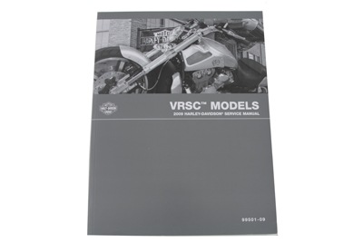Factory Service Manual for 2009 VRSC