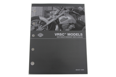 Factory Spare Parts Book for 2009 VRSC