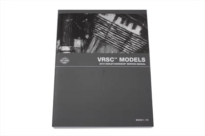 OE Service Manual for 2010 VRSC