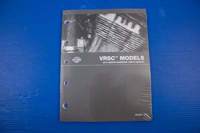 OE Parts Book For 2010 VRSC