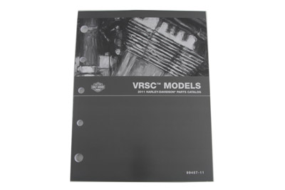 OE Parts Book for 2011 VRSC