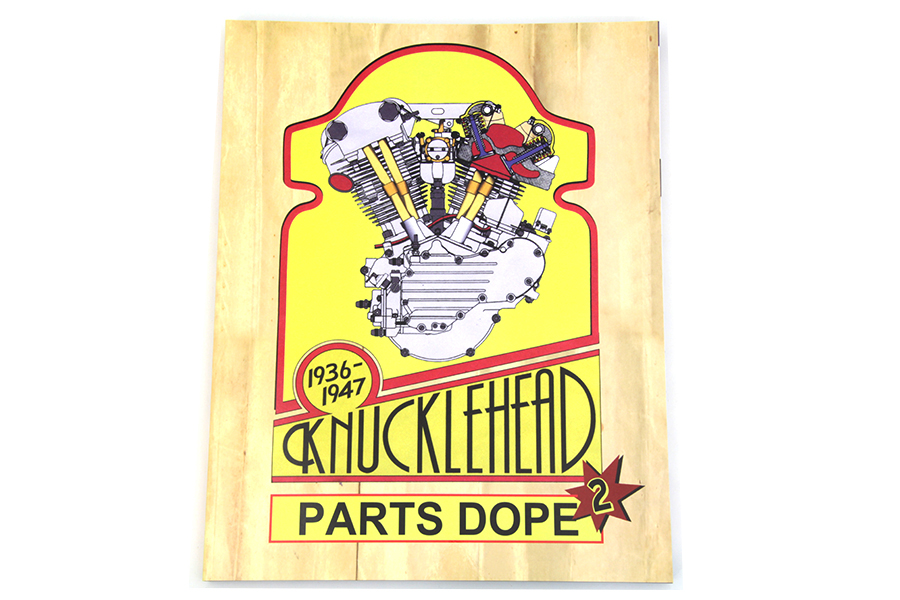 V-Twin Knucklehead Parts Dope Reference Guide