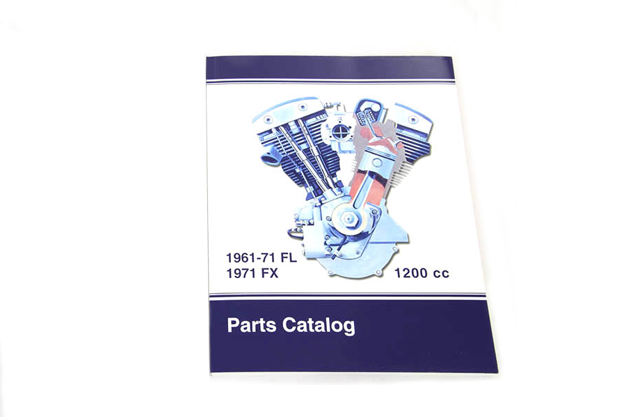 Spare Parts Book for 1961-1971 Big Twin