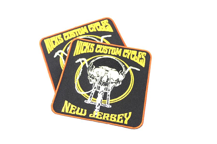 Nick's Custom Cycle NJ Patch Set