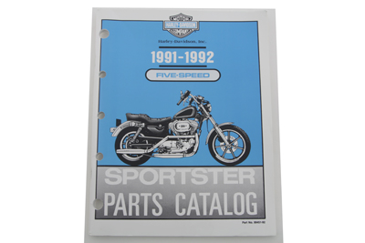 *UPDATE Factory Spare Parts Book for 1991-1992 XL