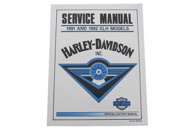 *UPDATE Factory Service Manual for 1991-1992 XLH