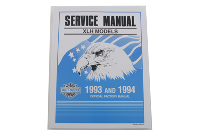 *UPDATE Factory Service Manual for 1992-1994 XLH