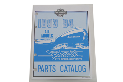 Factory Spare Parts Manual for 1993-1994 XL