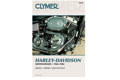 Clymer Repair Manual for 1966-1984 Shovelhead