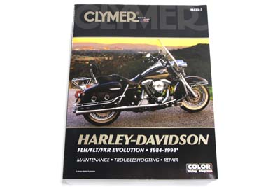 Clymer Repair Manual for 1984-1998 FLT-FXR