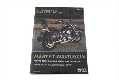 Clymer Service Manual for 2000-2005 FXST-FLST