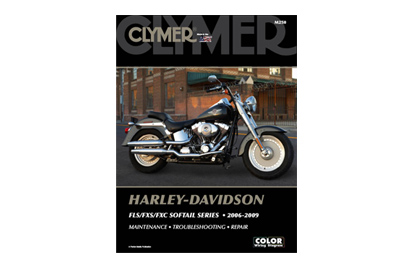 Clymer Repair Manual for 2006-2010 FXST-FLST