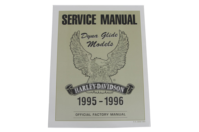 *UPDATE Factory Service Manual for All 1995-1996 Dyna Glide