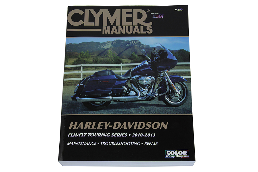 Clymer Repair Manual for 2010-2013 FLT