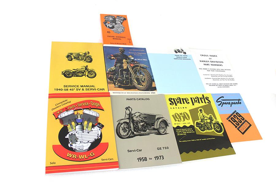 45 WL/G Manual Library Set