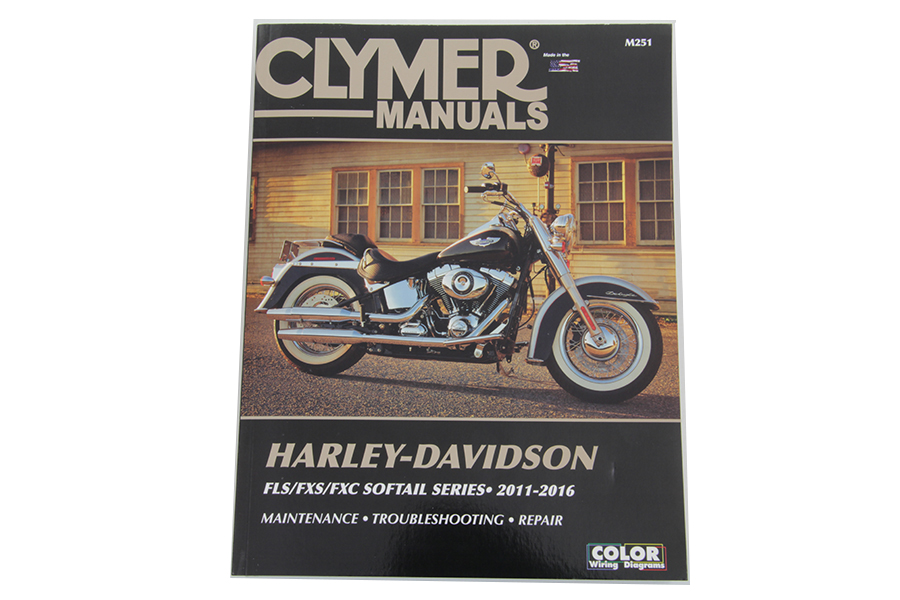 Clymer Repair Manual for 2011-Up FXST, FLST