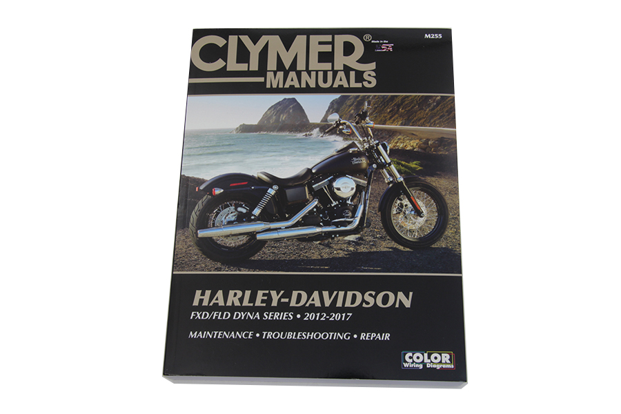 Clymer Repair Manual for 2012-2017 DynaGlide