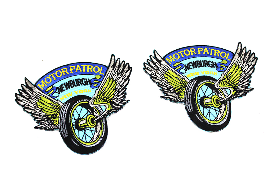 Police Motor Patrol Newburgh, NY Patches