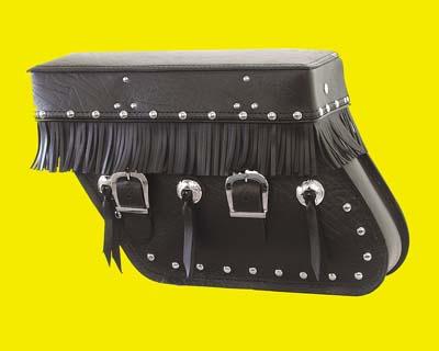 Glide Leather Saddlebags