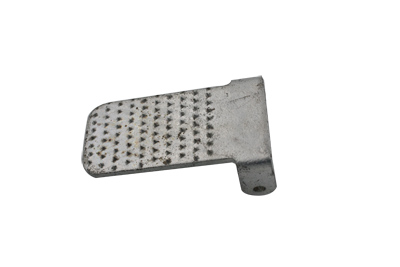 Indian Clutch Pedal Heel Pad Zinc