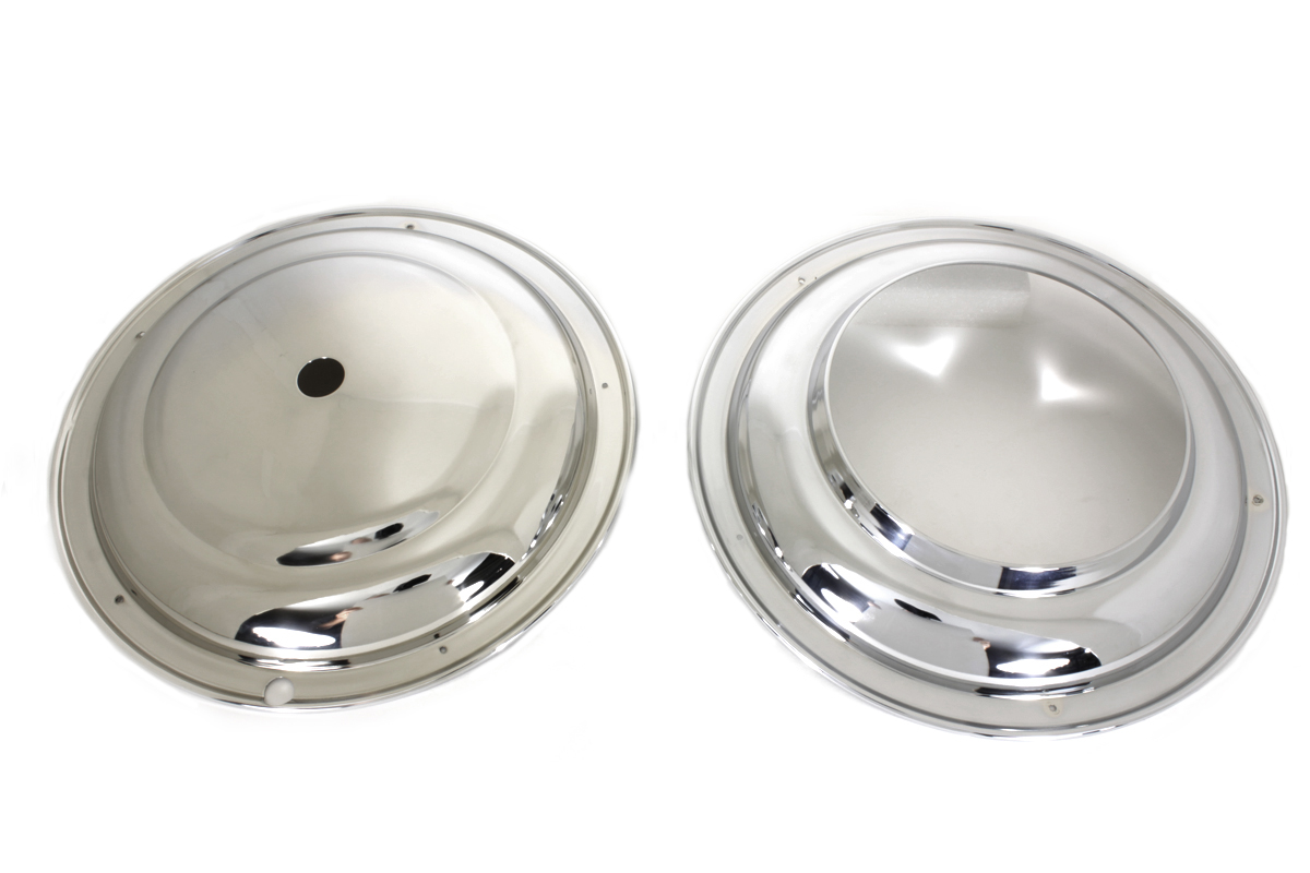 "16"" Front Wheel Cover Set Chrome"