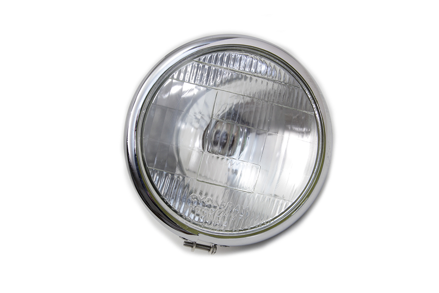 "6-1/2"" Round Headlamp Chrome"