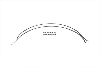 Servi-Car Rear Fender Trim Set Stainless