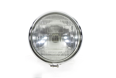 "6-1/2"" Round Headlamp Black"