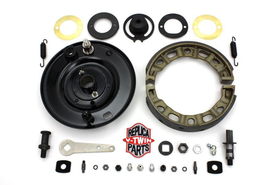Front Brake Backing Plate Kit