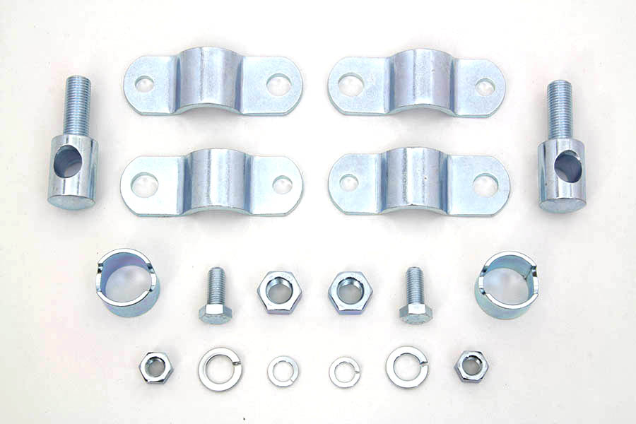 Windshield Clamp Kit Zinc