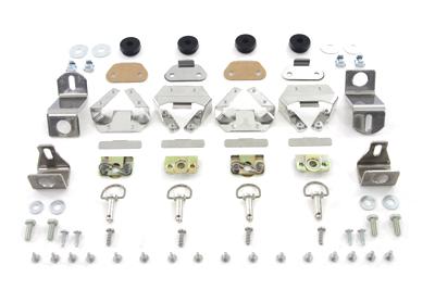 Saddlebag Stud and Hardware Kit