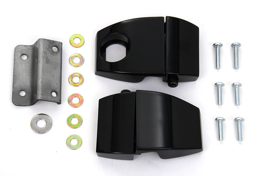 VTwin Wyatt Gatling Tour Pack Luggage Latch Kit for 2006-2013 Harley Touring FLT