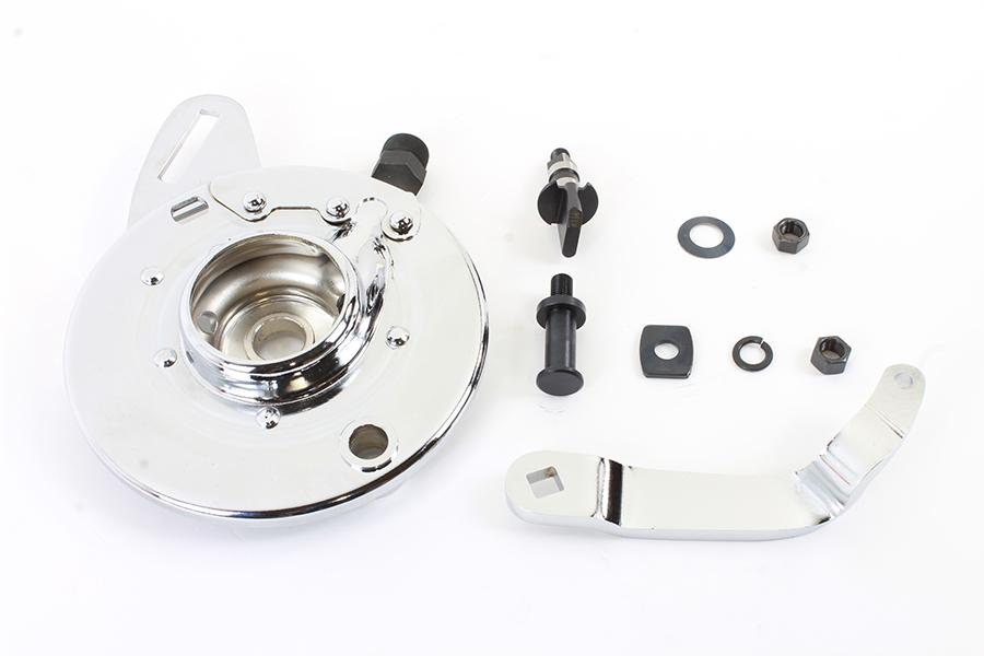 "45"" Rear Brake Backing Plate Kit Chrome"