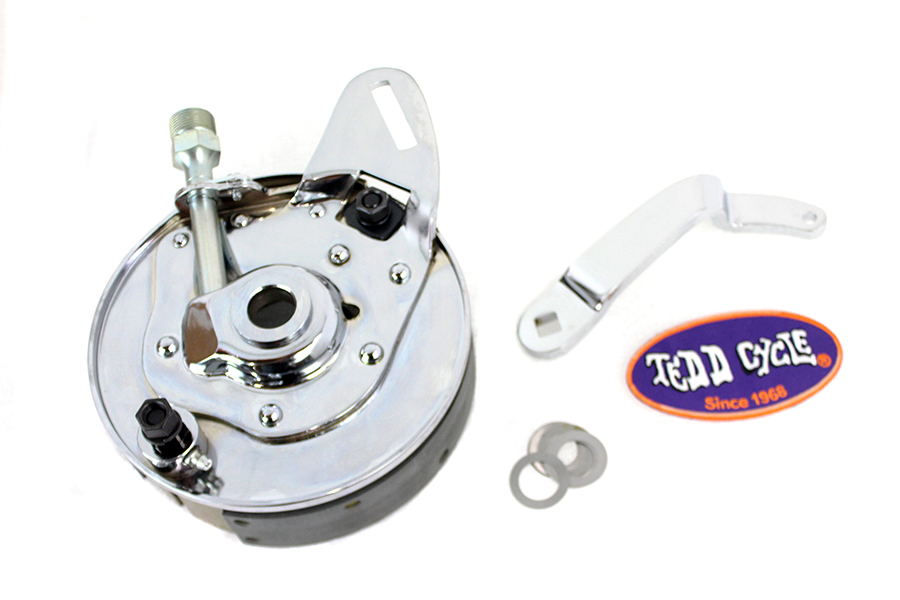 """45"""" Rear Brake Drum and Backing Plate Assembly"""