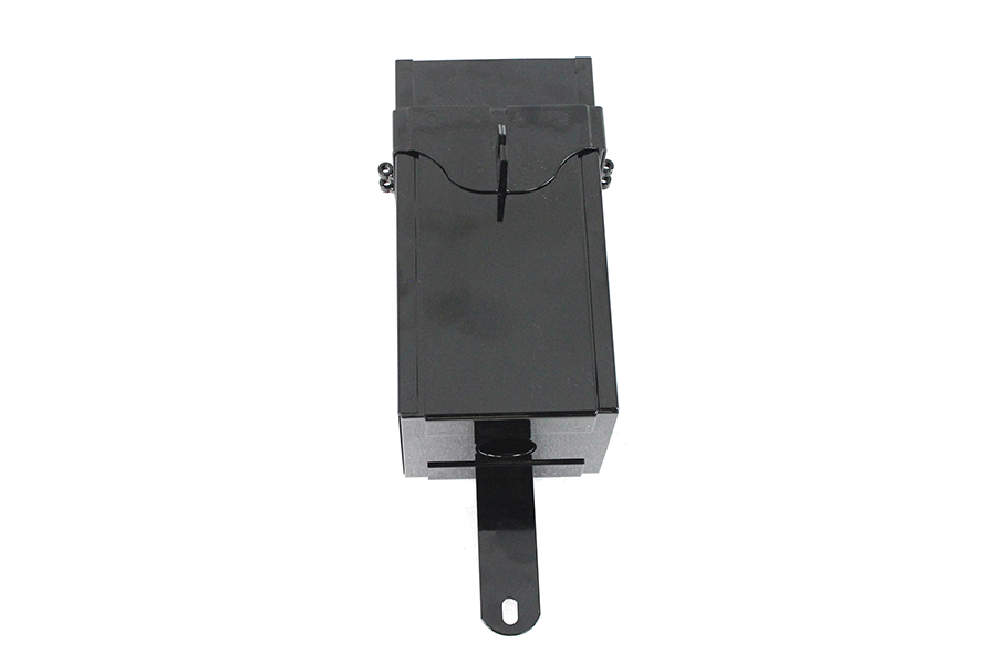 Black Powder Coated Battery Box