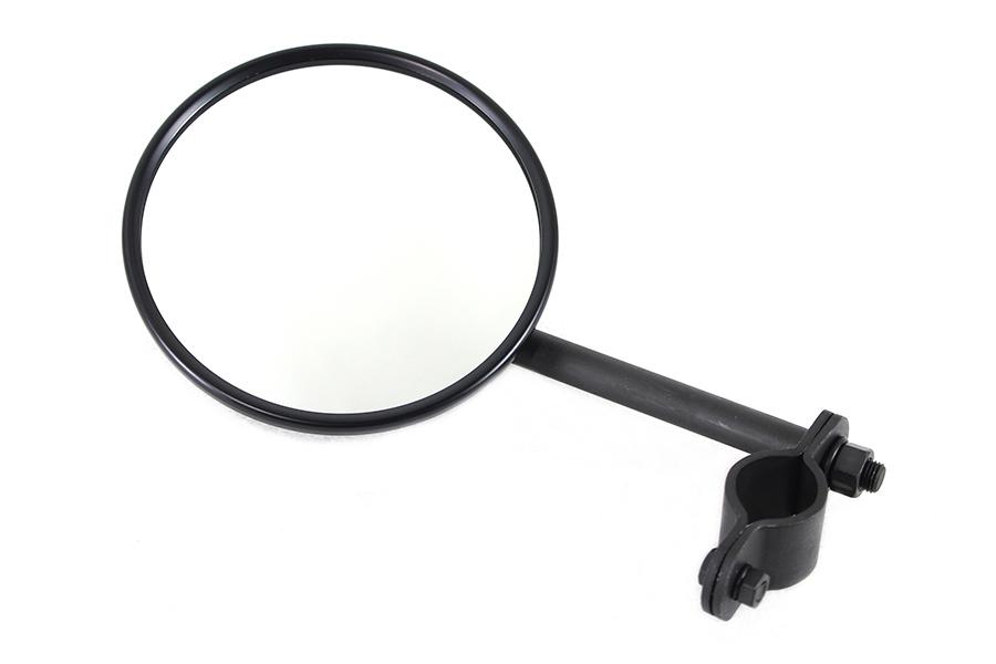 "Tall Spring Fork Black 5"" Mirror"
