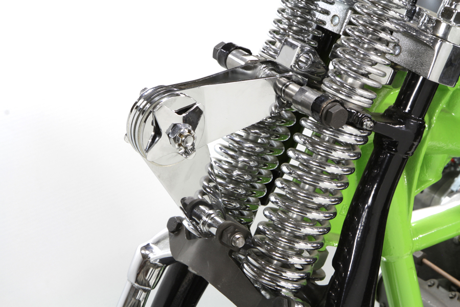 WR Parkerized Spring Fork Scissor Steering Damper Kit