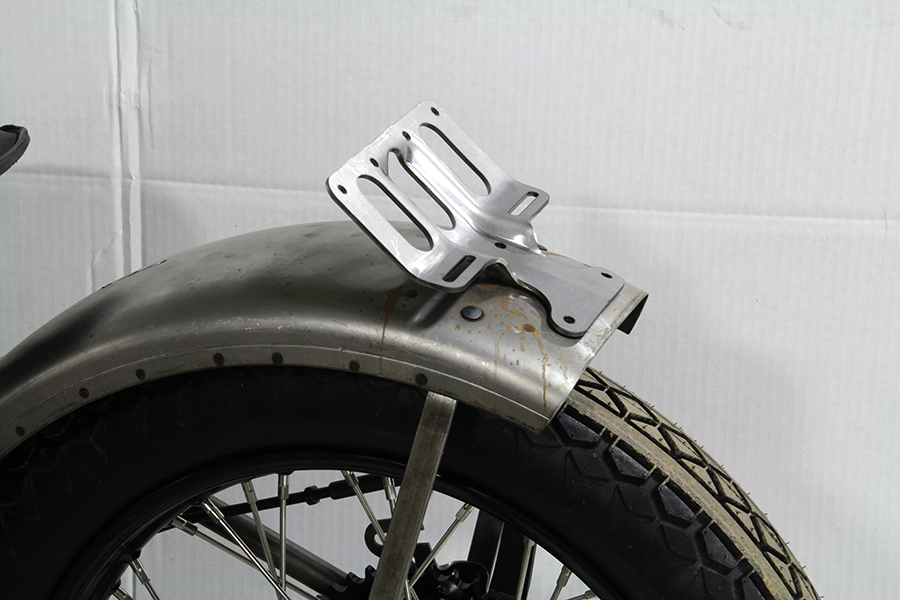 Parkerized Army Tail Lamp Bracket