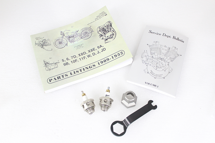 JD Spark Plug & Parts Book Set