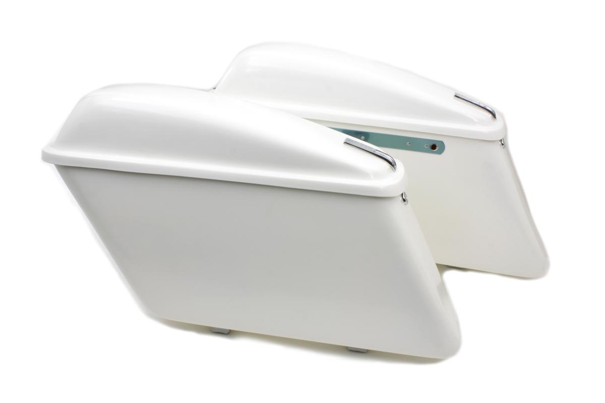 Replica White Saddlebag Set