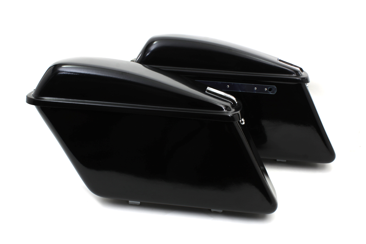 Replica Black Saddlebag Set