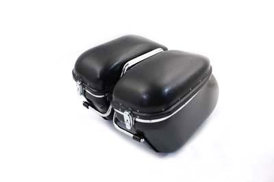 Black Magic Royalite Saddlebag Kit