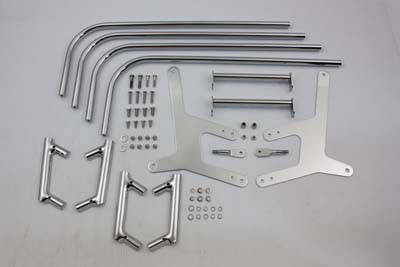 Chrome Saddlebag Guard Kit