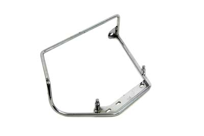 Chrome Right Saddlebag Mount Bracket