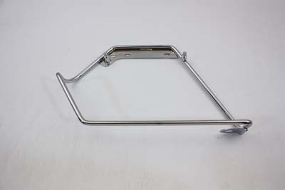 Chrome Saddlebag Left Mount Bracket