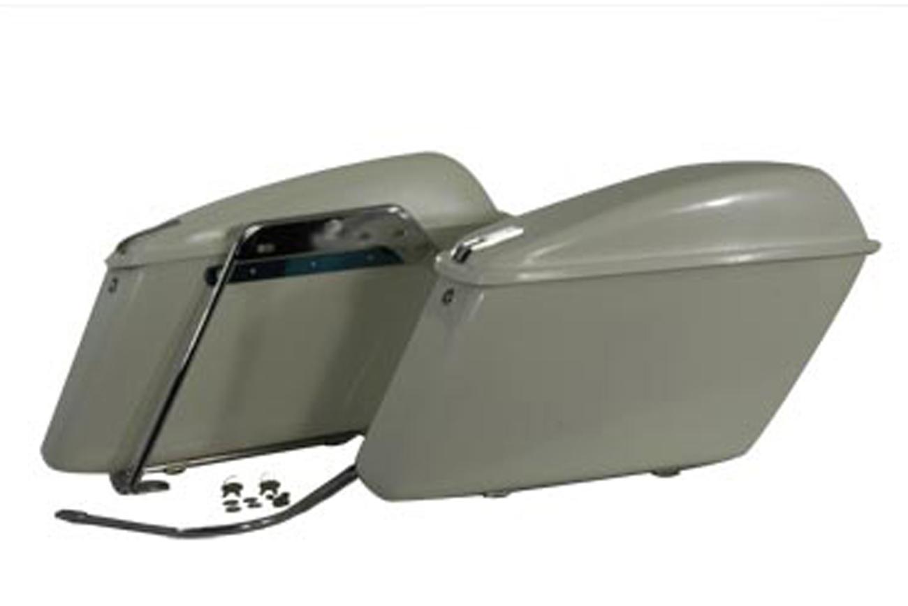 Replica Saddlebag Set White
